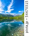 《長野県》初夏の上高地・新緑の大正池 54470315