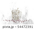 Hand Drawn of Iced Coffee and Tea 54472391
