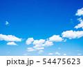 空 青空 背景  背景素材 54475623