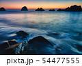 中林海岸の夜明け 54477555