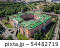 Aerial view of St Michael's Castle in Saint-Petersburg 54482719