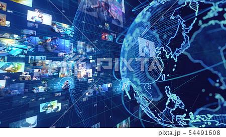 グローバルネットワーク 54491608