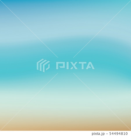 Summer background with sea and beach. 54494810