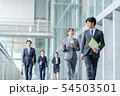 ビジネスマン ビジネス 会社員の写真 54503501