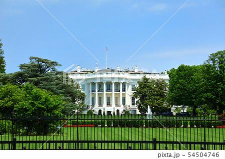 アメリカ ワシントンD.C ホワイトハウス 南側 54504746