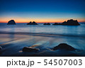 明け方の中林海岸 54507003
