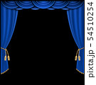 Curtain vector realistic illustration 54510254