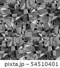 背景素材 ステンドグラス モノクロ 54510401