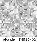 背景素材 ステンドグラス モノクロ 54510402