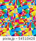 背景素材 ステンドグラス 54510420