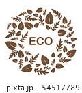 Arugula, basil leaves Eco, vegan, bio, organic 54517789