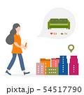 Use AR app to check information around customer 54517790