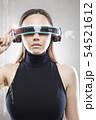 VR 眼鏡 めがねの写真 54521612