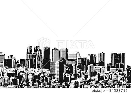 新宿 ビル群 54523715