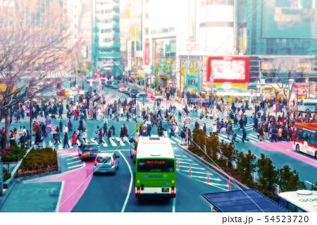 渋谷スクランブル交差点 54523720