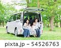 家族 自動車 旅行 54526763