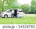 家族 自動車 旅行 54526765