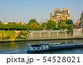 Seine River and Notre Dame after the fire 2019 54528021