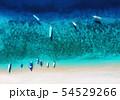Gili Meno island, Indonesia. Aerial landscape 54529266