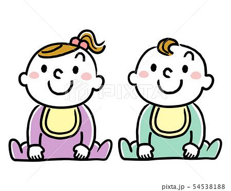 赤ん坊、赤ちゃん、乳幼児 54538188