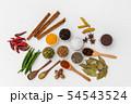 インド料理のスパイス集合写真 Spice India dish of the curry 54543524