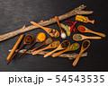 インド料理のスパイス集合写真 Spice India dish of the curry 54543535