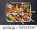 インド料理のスパイス集合写真 Spice India dish of the curry 54543547