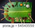 インド料理のスパイス集合写真 Spice India dish of the curry 54543550