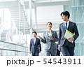 ビジネスマン ビジネス 男性の写真 54543911