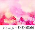 可愛いハートの背景 54546369