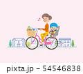 ママチャリ 買い物 イラスト 54546838