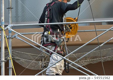 足場職人の装備と工具 54551562