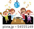 家族でカラオケ 54555149
