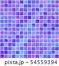タイル風 パターン(むらさき) 54559394