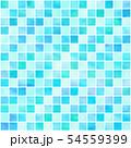 タイル風 パターン(あお) 54559399
