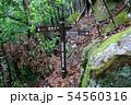 世界遺産 紀伊山地の霊場と参詣道熊野参詣道中辺路 滝尻王子から高原熊野神社への道標 54560316