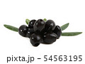 black olives isolated 54563195