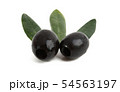 black olives isolated 54563197