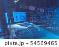 サイバー データ 未来の写真 54569465