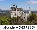 ノイシュヴァンシュタイン城 白鳥城 ドイツ ヨーロッパ 54571654