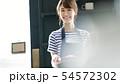 カフェ店員 54572302