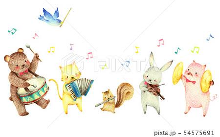 動物の音楽隊 54575691