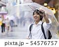 男性 待ち合わせイメージ 大阪 雨 54576757