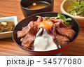 ローストビーフ丼 54577080