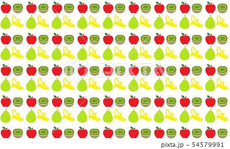 果物 フルーツ 壁紙のイラスト素材