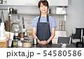カフェ店員 54580586