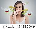 Halitosis or Bad breath 54582049