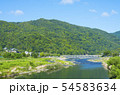 京都 嵐山 初夏 緑と青空 54583634