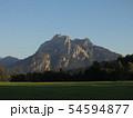 雄大なヨーロッパの山 54594877