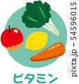 五大栄養素 ビタミン 54596015